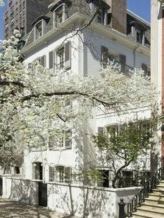 Bunny Mellon's townhouse on East 70th Street NYC