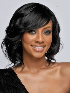 braided hairstyles for black women with weave | Keri Hilson Hair Styles.