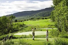 Golf aficionados staying at @FSVail can experience one of the premier #golf courses in the Rocky Mountain West, rated #15 of Top 100 Golf Destinations by Condé Nast Traveler. Red Sky Ranch & Golf Club allows guests to alternate play between a Tom Fazio Course and a Greg Norman Course.