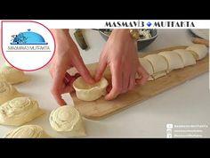📢BÖYLE KABARAN❗ŞEKLİ MÜTHİŞ KATMER POĞAÇA GÖRMEDİM💣KAT KAT ÇITIR ÇITIR KATMER POGAÇA TARIFI🔝 - YouTube Arabic Sweets, Arabic Food, Easy Bread Recipes, Cooking Recipes, Ramadan, Salty Snacks, Turkish Delight, Turkish Recipes, Dough Recipe