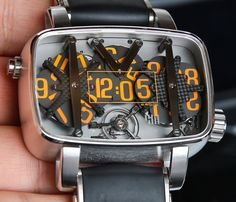 4N 4N-MVT01/D01 Watch Hands-On   Flash Sale