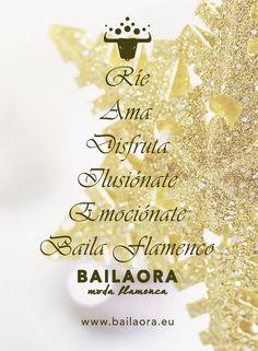 Bailaora Moda Flamenca te desea: ¡Feliz Navidad!