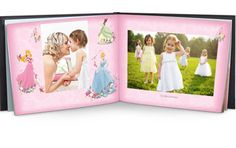 Disney Princess Photo Books - for princesses everywhere! LOVE!
