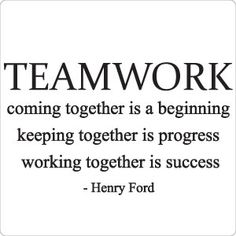 Teamwork Quotes For Work Teamwork Is The Best Workeveryone Has Their Strengths And This Is .