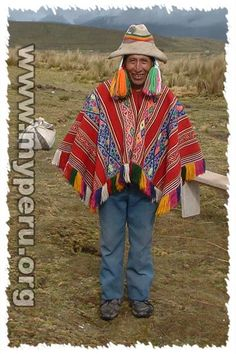 Traditional clothing from Peru.