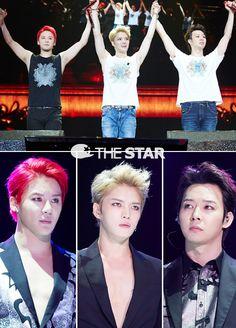 JYJ Concert in Beijing 'The Return Of The King' 140823 Korean Pop Group, Korean K Pop, Korean Wave, Cnblue, Jyj, Sungkyunkwan Scandal, Park Yoo Chun, Under My Skin, Korean Bands