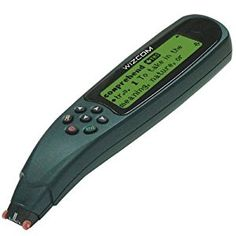 Mid tech-The Wizcom Reading Pen shows the scanned text in a larger print. It also reads the words aloud using text to speech technology and spells words letter by letter