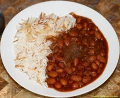 Lebanese Beef Chili Stew: Fasolia Beans with Rice Fasolia (Phaseolus vulgaris) is the typical name given to different varieties of red beans in Lebanon. And apparently in other countries in the Middle East such as Egypt and Turkey (Fasulye), Fasolia can refer to green beans as well.