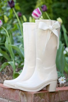 Wellies for the bride