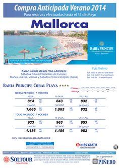 Mallorca: Hasta 40% compra anticipada Bahia Principe Coral Playa salidas desde Valladolid ultimo minuto - http://zocotours.com/mallorca-hasta-40-compra-anticipada-bahia-principe-coral-playa-salidas-desde-valladolid-ultimo-minuto/