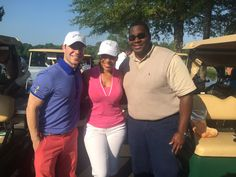LisiProta with news anchor Audrina Bigos and ESPN anchor Steve Weissman at the Clothier Classic.  Proceeds benefit domestic violence awareness.