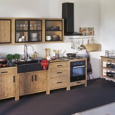 alinea lys meuble de cuisine bas 3 tiroirs   meubles maison