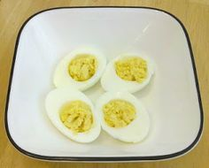 My HCG Cooking Blog - Favorite recipes and discoveries on my HCG weightloss journey: P2 Deviled Eggs