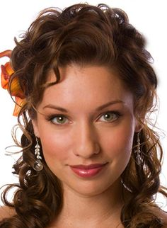 Medium Length Curly Hairstyles images