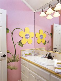 Delicieux A Little Girlu0027s Bathroom!