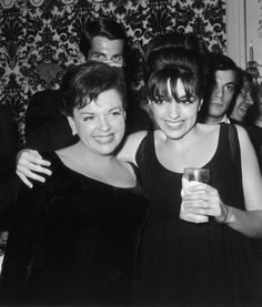 Judy Garland and Liza Minnelli | 10 Celebrity Moms Whose Kids May Secretly Be Their Twin