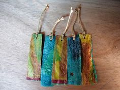 My Upcycled Life: fused plastic bags                                                                                                                                                     More