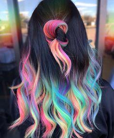Reddit - RainbowEverything - How's this for balayage hair?!! 😍❤️😘