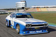 Ford Capri RS in the track test: louder than a jet jet - auto motor und sport - - Ford Gt, Ford Shelby, Car Ford, Ford Mustang, Ford Sport, Sport Cars, Classic Cars British, Classic Race Cars, Ford Classic Cars