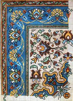 Старинные схемы вышивки крестом и не толлько. Часть 2