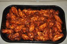 Hete kip (gemaakt van kippenvleugeltjes)