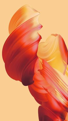 Abstract Orange - Tap to see more beautifully colored wallpapers! - @mobile9