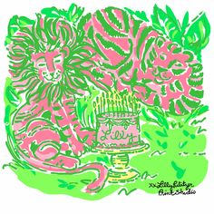 Cheers to our founder, the original Palm Beach Hostess! All Lilly Lovers & the entire jungle celebrate in honor of your birthday this weekend. xx. #lilly5x5