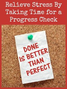 Relieve Stress By Taking Time for a Progress Check | Backdoor Survival