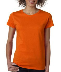 5000L Gildan Heavy Cotton™ Ladies' T-Shirt Orange