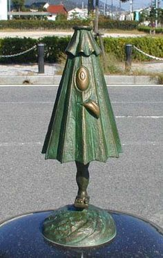 Kasa-obake (傘おばけ?) are mythical ghosts or yōkai in Japanese folklore. They are sometimes considered a tsukumogami (objects that have reached their 100th birthday and thus become alive and self-aware) that old umbrellas turn into.