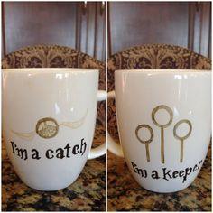 Harry Potter Quidditch Mug @Ana G. G. Plata Salazar @Sarah Chintomby Liebel DC