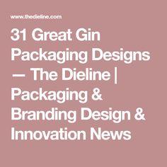 31 Great Gin Packaging Designs — The Dieline   Packaging & Branding Design & Innovation News