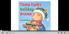 Online read aloud of Llama Llama Holiday Drama. A perfect read for the holiday season!