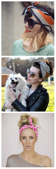 #style #scarf #sunglasses