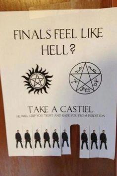 Take a Castiel #Supernatural