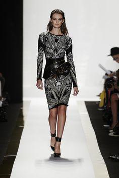 new york fashion week 2014 | New York Fashion Week: Herve Leger 2014 - Stylephile - Boston.com