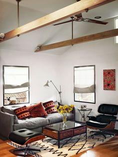 我們看到了。我們是生活@家。: 演員 Vincent Kartheiser 在好萊塢的16坪小宅,帶點日本工業風格!