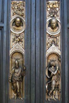 San Francisco - Nob Hill: Grace Cathedral - Ghiberti Doors   Flickr - Photo Sharing!