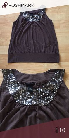 Lane Bryant Brown Flowy Blouse Great condition! Super comfy! If you have any questions plz ask :) Lane Bryant Tops Blouses