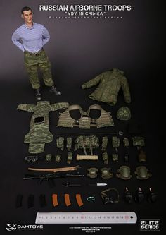 onesixthscalepictures: DAM Toys RUSSIAN AIRBORNE TROOPS (VDV) : Latest product news for 1/6 scale figures (12 inch collectibles) from Sideshows Collectibles, Hot Toys, Medicom, TTL, Triad Toys, Enterbay and others.