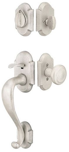 Emtek Door Hardware Denver Style Tubular Entrance Handleset 1