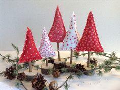 Dein eigener kleiner Wald -- 5 Tannenbäume von Steinhoff-Design auf DaWanda.com