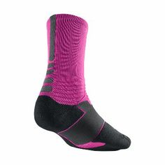 Nike hyper elites pink>>got these today :) Nike Basketball Socks, Best Basketball Shoes, Nike Elites, Nike Elite Socks, Nike Socks, Derrick Rose, Nike Shoes For Boys, Athletic Gear, Adidas