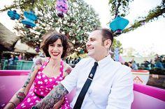 Disneyland Engagement Shoot