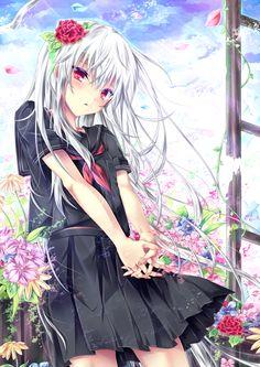 高校生の頃に描いた女の子がお気に入りだったのでリベンジです(-3_ヽ)_