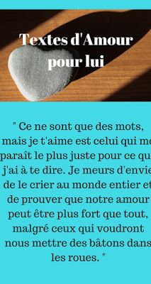 texte d'amour pour lui dire je t'aime Photo Album Scrapbooking, Messages, Distance, Romance, Heart, Quotes, Texts, Te Amo Mi Amor, Bonheur