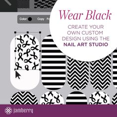 Possibilities are endless with the Nail Art Studio, visit my website beautifuldawn.jamberrynails.net to see all of them!