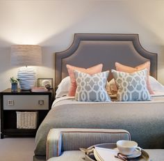 By Interior Designer Sophie Paterson- Romantic feminine bedroom
