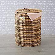 Sepia Storage Woven Hamper