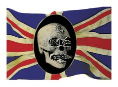 Jamie Reid, God save Damien Hirst, 2008